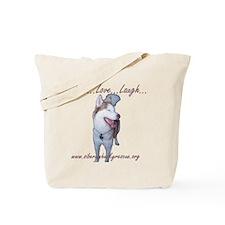 Diesel: Live Laugh Love Tote Bag