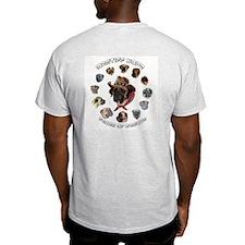 Mastiff Hope Logo  Ash Grey T-Shirt
