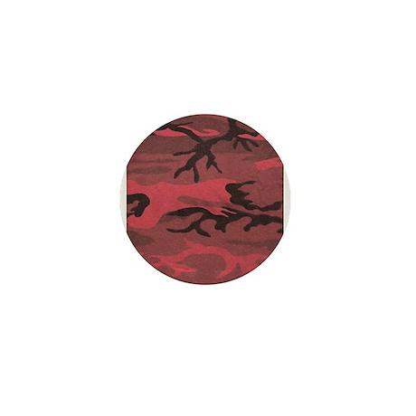 Red Camo Mini Badge/Button/Pin