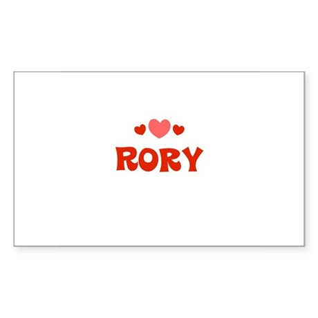 Rory Rectangle Sticker