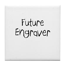 Future Engraver Tile Coaster