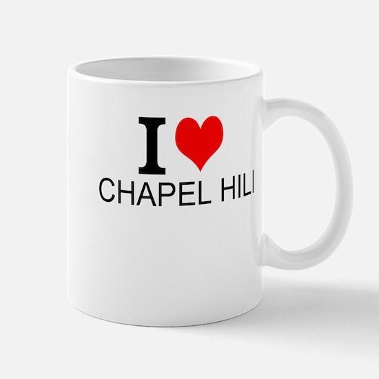 I Love Chapel Hill Mugs