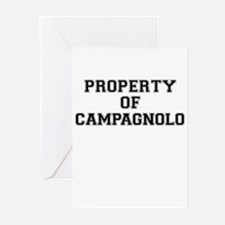 Property of CAMPAGNOLO Greeting Cards