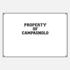 Property of CAMPAGNOLO Banner