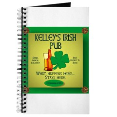 KELLEY'S IRISH PUB Journal
