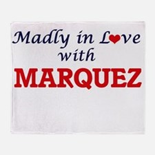 Madly in love with Marquez Throw Blanket