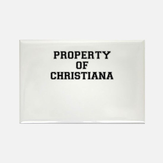 Property of CHRISTIANA Magnets