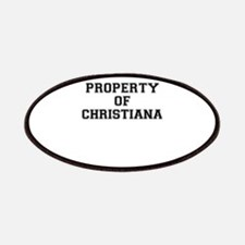 Property of CHRISTIANA Patch