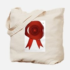 Red texas seal Tote Bag
