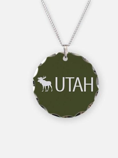 Utah: Moose (Mountain Green) Necklace