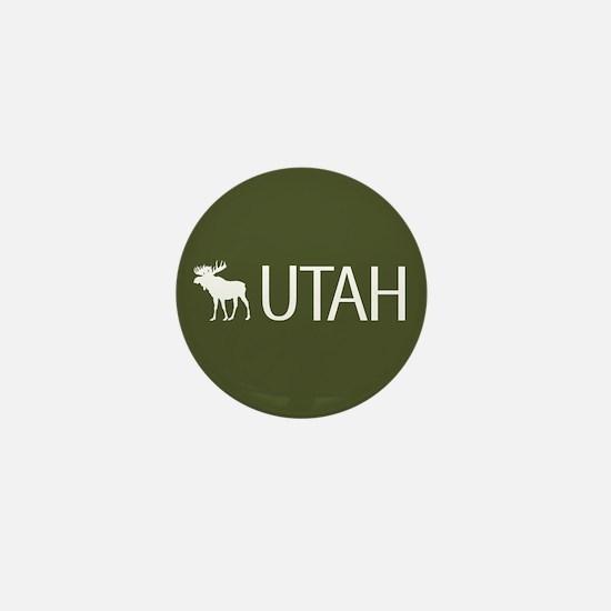 Utah: Moose (Mountain Green) Mini Button