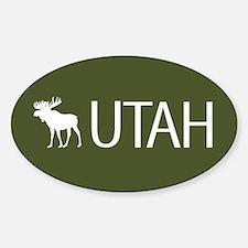 Utah: Moose (Mountain Green) Decal