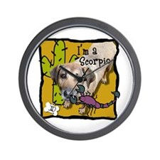 I'm a Scorpio Wall Clock