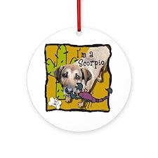 I'm a Scorpio Ornament (Round)