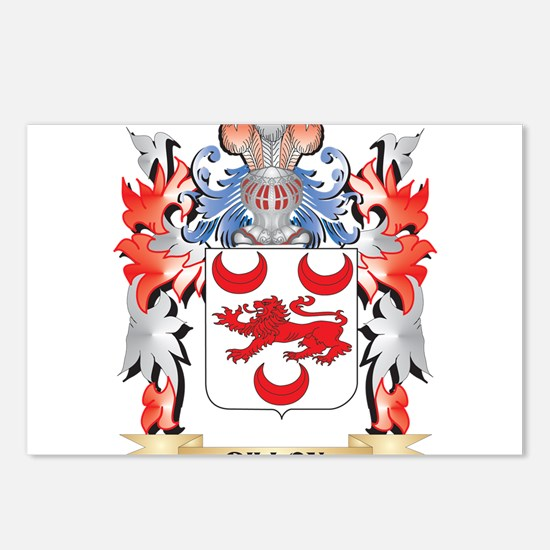 Dillon Coat of Arms - Fam Postcards (Package of 8)