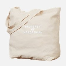 Property of KARDASHIAN Tote Bag