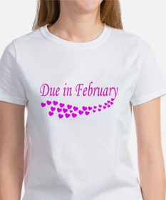 DUE IN FEBRUARY Tee