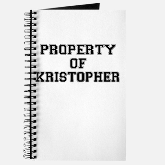 Property of KRISTOPHER Journal
