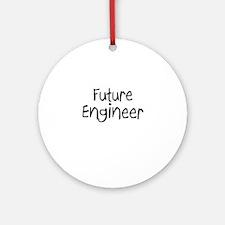 Future Engineer Ornament (Round)