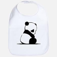 Sad Baby Panda Bib