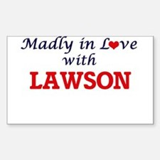 Madly in love with Lawson Decal