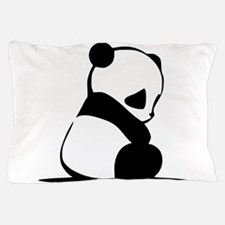 Sad Baby Panda Pillow Case