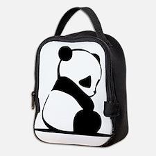 Sad Baby Panda Neoprene Lunch Bag