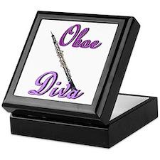 Oboe Diva Keepsake Box