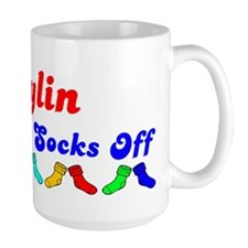 Jaylin Rocks Socks (B) Mug