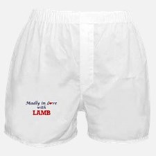 Madly in love with Lamb Boxer Shorts