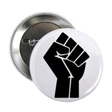 "Revolution Anarchy Power Fist 2.25"" Button"