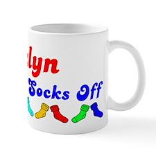 Jazlyn Rocks Socks (B) Mug