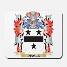 Dingle Coat of Arms - Family Crest Mousepad
