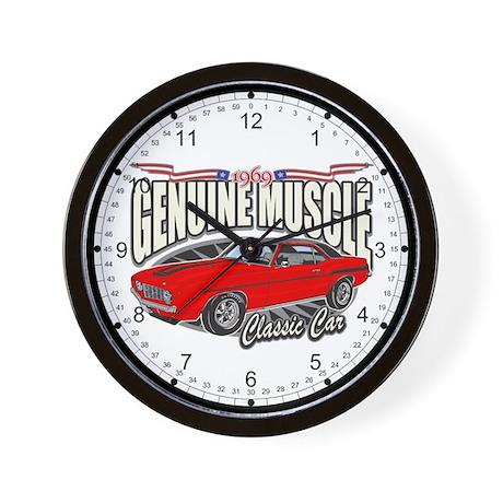 Genuine Muscle Classic Car Wall Clock