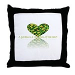 Reflection of the heart Throw Pillow