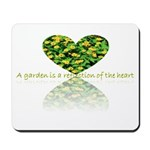 Reflection of the heart Mousepad