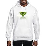 Reflection of the heart Hooded Sweatshirt