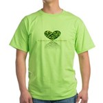 Reflection of the heart Green T-Shirt