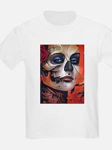 Dia de las Muertas Woman T-Shirt