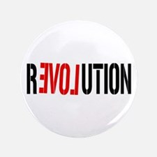 "Revolution Love 3.5"" Button"
