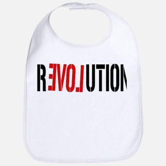Revolution Love Bib