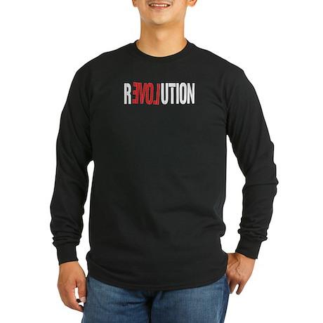 Revolution Love Long Sleeve Dark T-Shirt