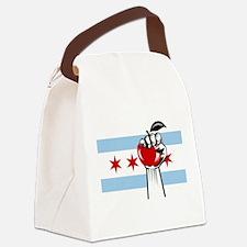 RevolutionAppleChicago Canvas Lunch Bag