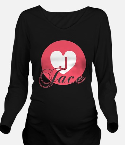 Unique Jace Long Sleeve Maternity T-Shirt
