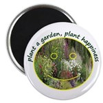 Plant garden, Plant Happiness Magnet
