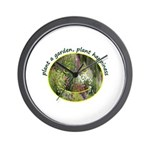 Plant garden, Plant Happiness Wall Clock