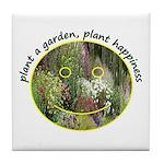Plant garden, Plant Happiness Tile Coaster
