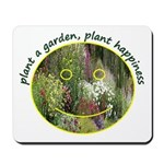 Plant garden, Plant Happiness Mousepad