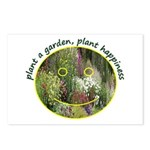 Plant garden, Plant Happiness Postcards (Package o
