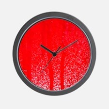 dripping blood Wall Clock